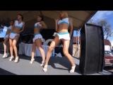 Сексуальные девушки дурачатся под песню Давай Давай! Вечеринка, дискотека, алкоголь. Клип для отдыха
