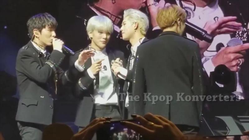 [VK][23.07.2017] MONSTA X Fancam Jooheon Aegyo @ 'THE 1ST WORLD TOUR' Beautiful in Los Angeles (D-1)