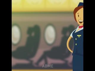 Почему стюардессы держат руки за спиной, встречая пассажиров
