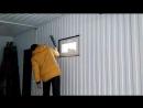 ставим окно в гараж ГО1