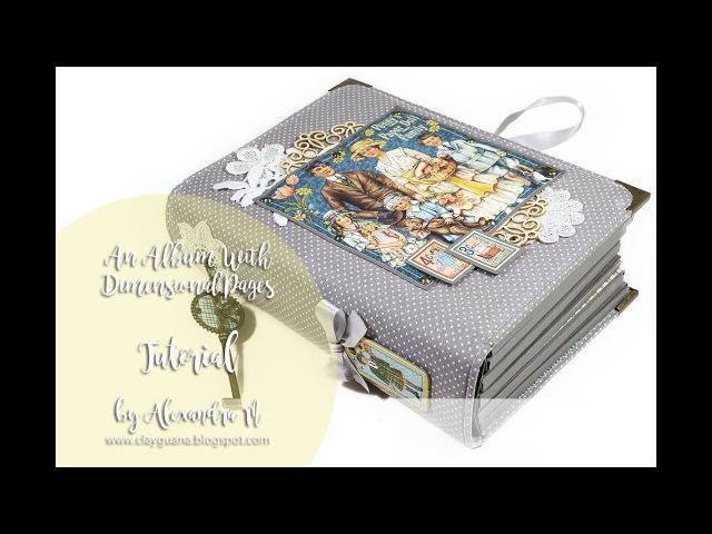 G45 Penny's Paper Doll Family Album Tutorial