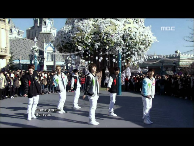 BEAST Beautiful - 비스트, 뷰티풀, 쇼! 음악중심, 20101204 - MBC