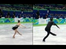 HQ 3Lz3T Combo by Yu-Na Kim and Evan Lysacek, side by side 1/10x