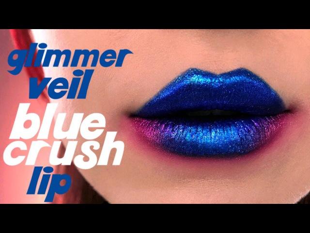 GLIMMER VEIL BLUE CRUSH LIP - Kat Von D Beauty
