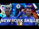 NEW YORK SKILLS CHALLENGE WITH ASHLEY COLE MICHAEL ESSIEN