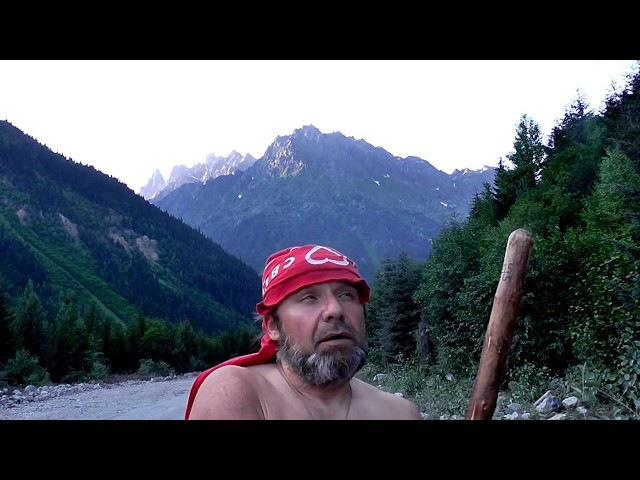 Ледник Чалаади - первое препятствие к Цели