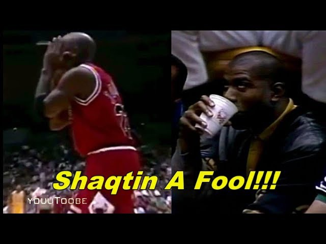 Michael Jordan Makes Shaqtin A Fool (Magic Johnson's Reaction)
