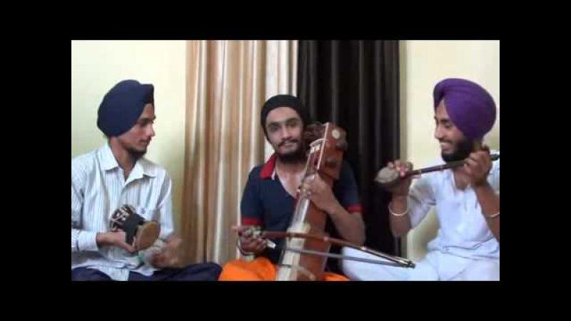 Folk art played by Joban sunami,Amritpal singh,Aman handa