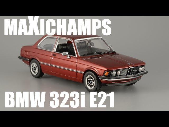 BMW 323i E21 [MaXichamps] масштабная модель автомобиля 1:43