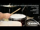 ULTIMATE Evans Snare Drum Heads Comparison Timpano Percussion