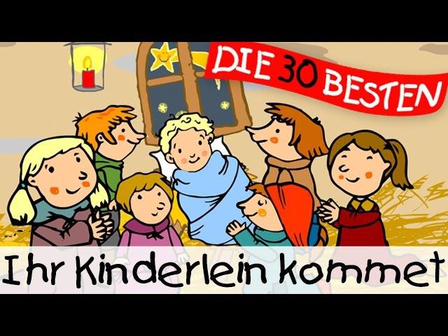 Ihr Kinderlein kommet Weihnachtslieder zum Mitsingen Kinderlieder