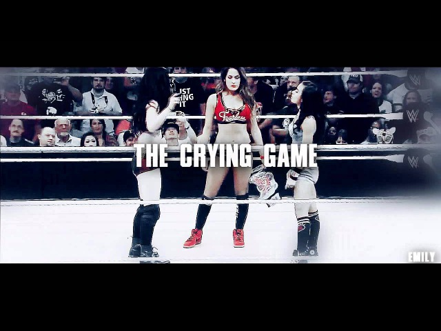 Paige aj ft nikki bella - crying game (femslash)