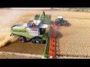 Mähdrescher CLAAS LEXION 780 Terra Trac - Fendt Weizenernte biggest combine harvester wheat harvest