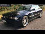 Nachtblau BMW Alpina B12 5.7 Limousine For Sale originally sold as new in Sweden