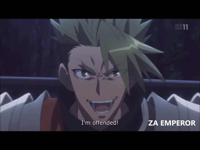 Fate/Apocrypha - Achilles and Atalanta vs Siegfried, Chiron and Frankensteins Monster [SUB/FULL HD]