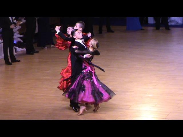 Соколов Андрей - Кулакова Полина | Вальс | Зимняя Звезда 2017 Юниоры - 1 Финал
