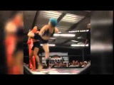 Christine Stanley delivers spectacular spinning kick MMA KO