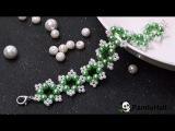LC 39. Pandahall Мастер-Класс - DIY жемчужный браслет,зеленая красота