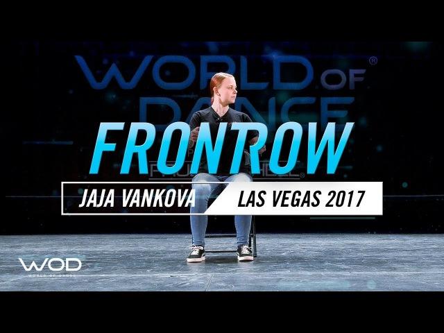 Jaja Vankova   FrontRow   World of Dance Las Vegas 2017  WODLV17
