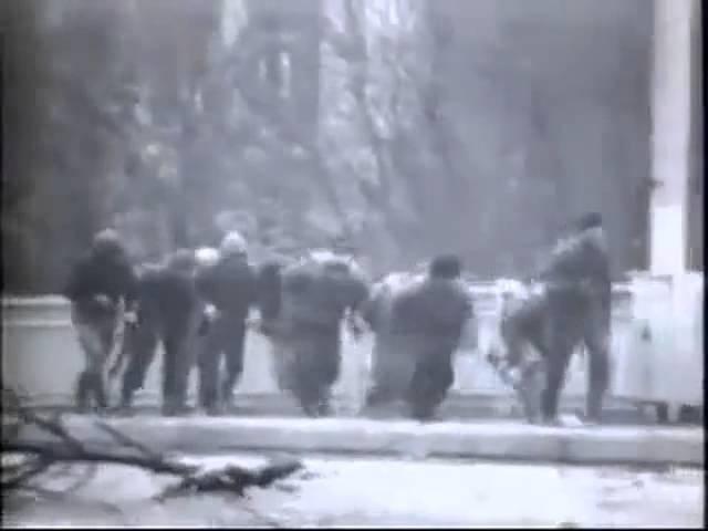Война в Чечне Штурм Грозного 1995 год Нарезка видео боевиков