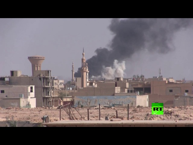 Battles in the vicinity of the Syrian city of Albu Kamal