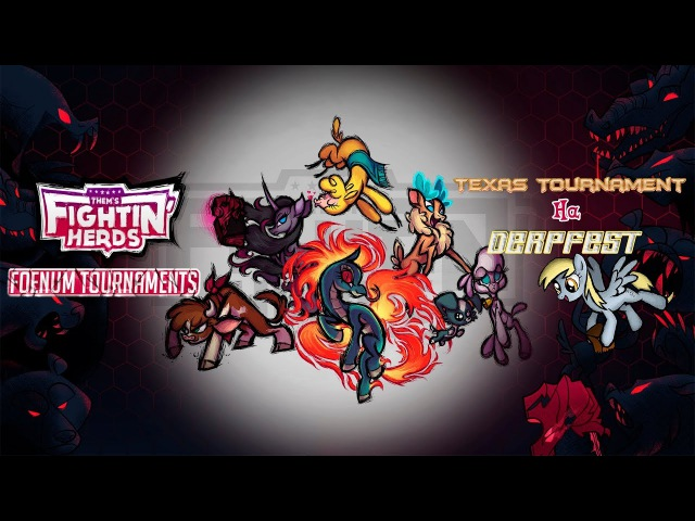 Стенд Them's Fightin' Herds Турниры Фоэнума на DerpFest'17