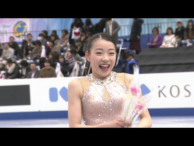 Rika KIHIRA JPN - ISU JGP Final Ladies Short Program Nagoya 2017