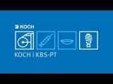 KOCH KBS-PT - Blister machine with pallets and KOCH delta robot KRH-D