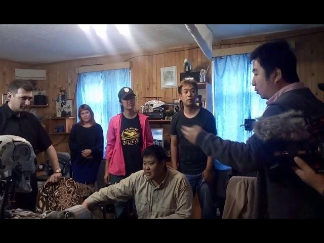 Телевидение Китая в гостях у Джона Генри