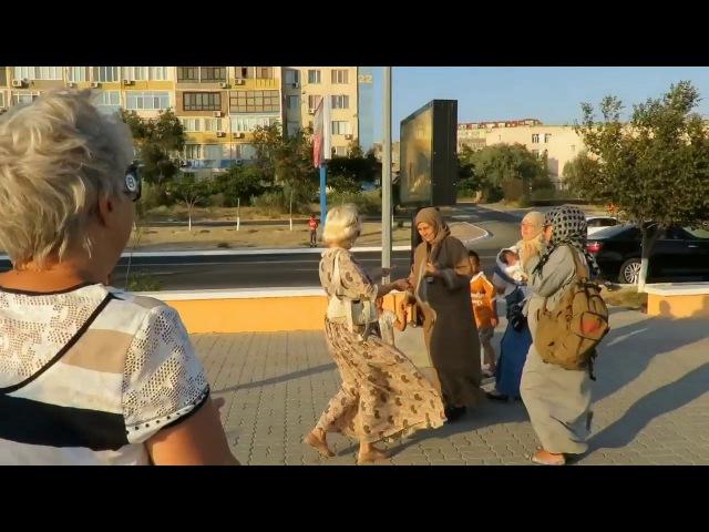 Флешмоб Жественности, Клуб Благость Казахстан-Актау, 01.08.2017г