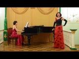 Алла Васильченко - Цыганская песня из оперы