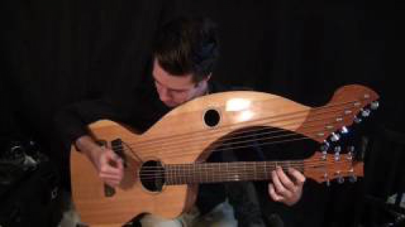 Hotel California (Eagles) - Harp Guitar Cover (arr. T. Bowman/Tomi Paldanius) - Jamie Dupuis