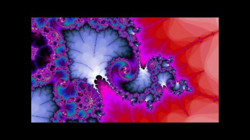 Fractal Zoom Fast Coral crush Mandelbrot 2160p 4K Ultra HD 60fps