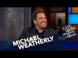 Michael Weatherly Had A Nightmare About The Late Show