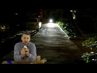 Линзованная фара 10W / Linzovannaya led spotlight 10W velomastera.ru веломастера