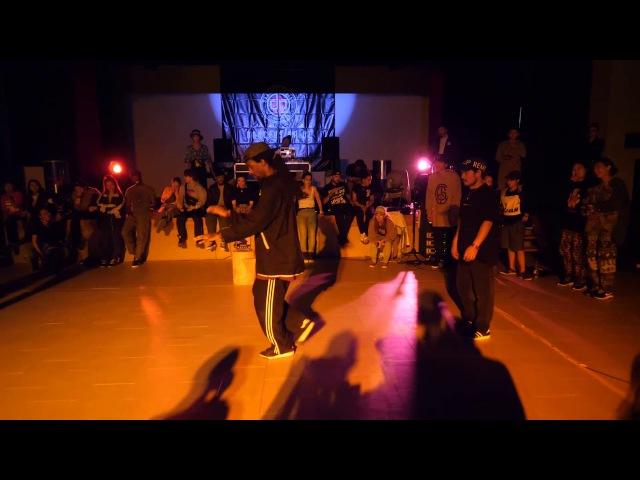 ICEE HIRO vs TOYIN FOXXY FINAL HOUSE SDCJ 2017 Street Dance Camp Japan