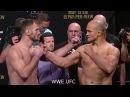 UFC 211 Stipe Miocic vs. Junior Dos Santos 2 Weigh in Faceoffs