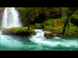 Relaxing Music with Nature Sounds - Beautiful Waterfall HD