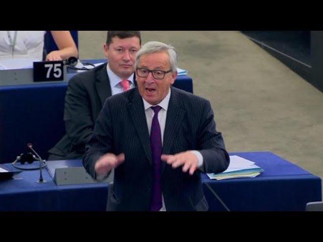 Leerer Saal: Juncker nennt Europaparlament lächerlich