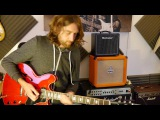 Slow blues in Am Jam - Demo Gibson 335 and Marshall JVM205c
