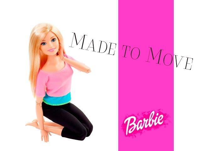 Barbie MADE TO MOVE Барби БЕЗГРАНИЧНЫЕ ДВИЖЕНИЯ. Обзор