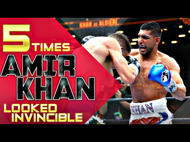 5 Times Amir Khan Looked Invincible