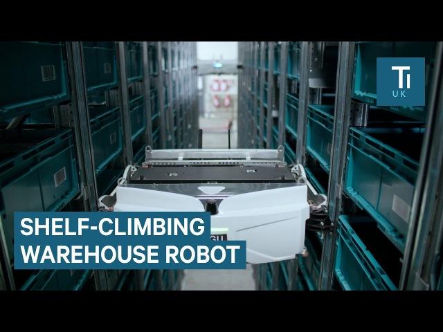 Французский робот-кладовщик