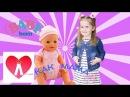 Кукла Беби Бон ДОЧКИ МАТЕРИ видео для детей КАК МАМА Baby Born doll toys for kids and toddlers