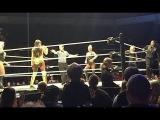 Charlotte &amp Naomi vs Natalya, Tamina &amp Lana WWE Live Pikeville 2017
