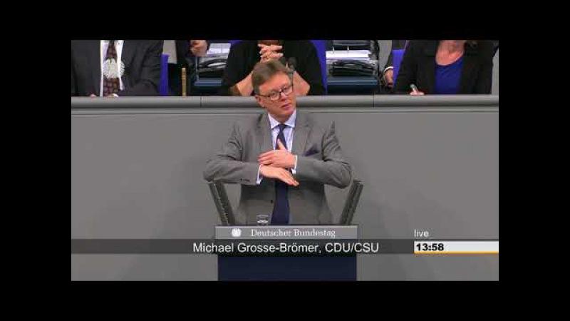 Michael Grosse Brömer: Etwas anders verpackt, aber auf DEUTSCH Natürlich wollen wir mehr Geld!