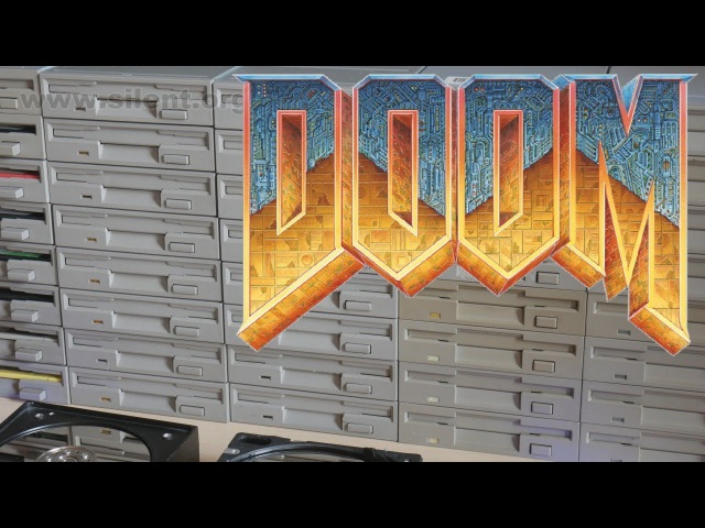 The Floppotron: Doom E1M1 - At Doom's Gate