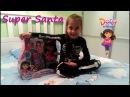 Супер Санта и подружка Дора Интерактивная Даша Путешественница Talking Dora Friends