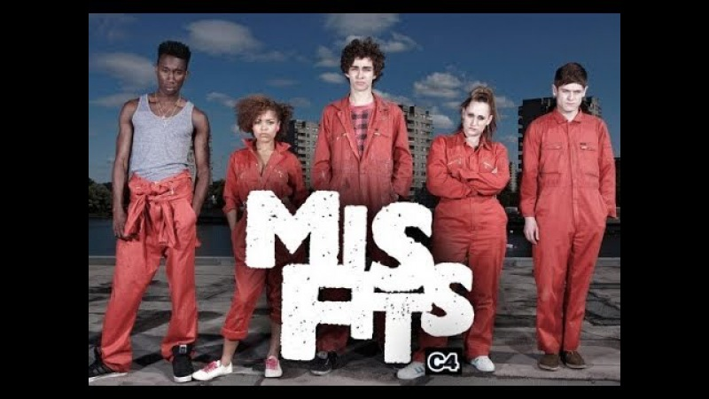 Misfits Отбросы 1 сезон 4 серия