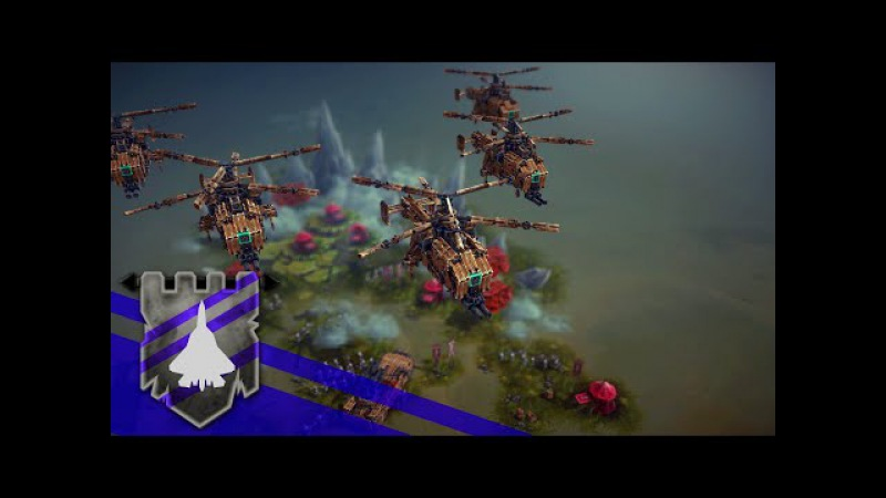 Ka-27 Helix on Retrieving Stolen Weapons from the GLA! | BESIEGE v 0.23 | Theater of Flights 22